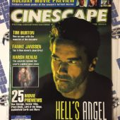 Cinescape Magazine (Nov/Dec 1999) Arnold Schwarzenegger, Tim Burton, Famke Janssen, Harsh Realm
