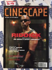 Cinescape Magazine (Spring 2013) Riddick, Vin Diesel, Sarah Michelle Gellar 86090