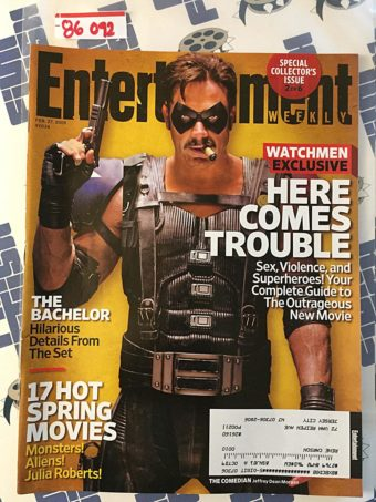 Entertainment Weekly Magazine (February 27, 2009) Jeffrey Dean Morgan, Watchmen [86092]