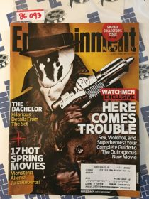 Entertainment Weekly Magazine (February 27, 2009) Jackie Earle Haley, Rorschach, Watchmen [86093]