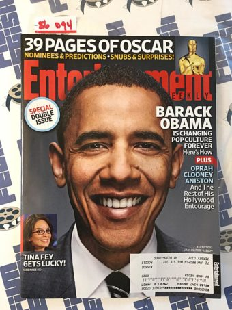 Entertainment Weekly Special Double Issue (January 30 – February 6, 2009) Barack Obama, Tina Fey [86094]