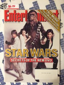 Entertainment Weekly Magazine (September 24, 2004) Star Wars Secrets of the New DVD [86131]