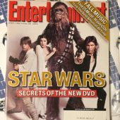 Entertainment Weekly Magazine (September 24, 2004) Star Wars Secrets of the New DVD [86132]