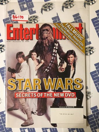 Entertainment Weekly Magazine (September 24, 2004) Star Wars Secrets of the New DVD [86133]