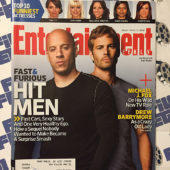 Entertainment Weekly Magazine (April 17, 2009) Vin Diesel, Paul Walker [8861]