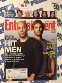 Entertainment Weekly Magazine (April 17, 2009) Vin Diesel, Paul Walker [8861]