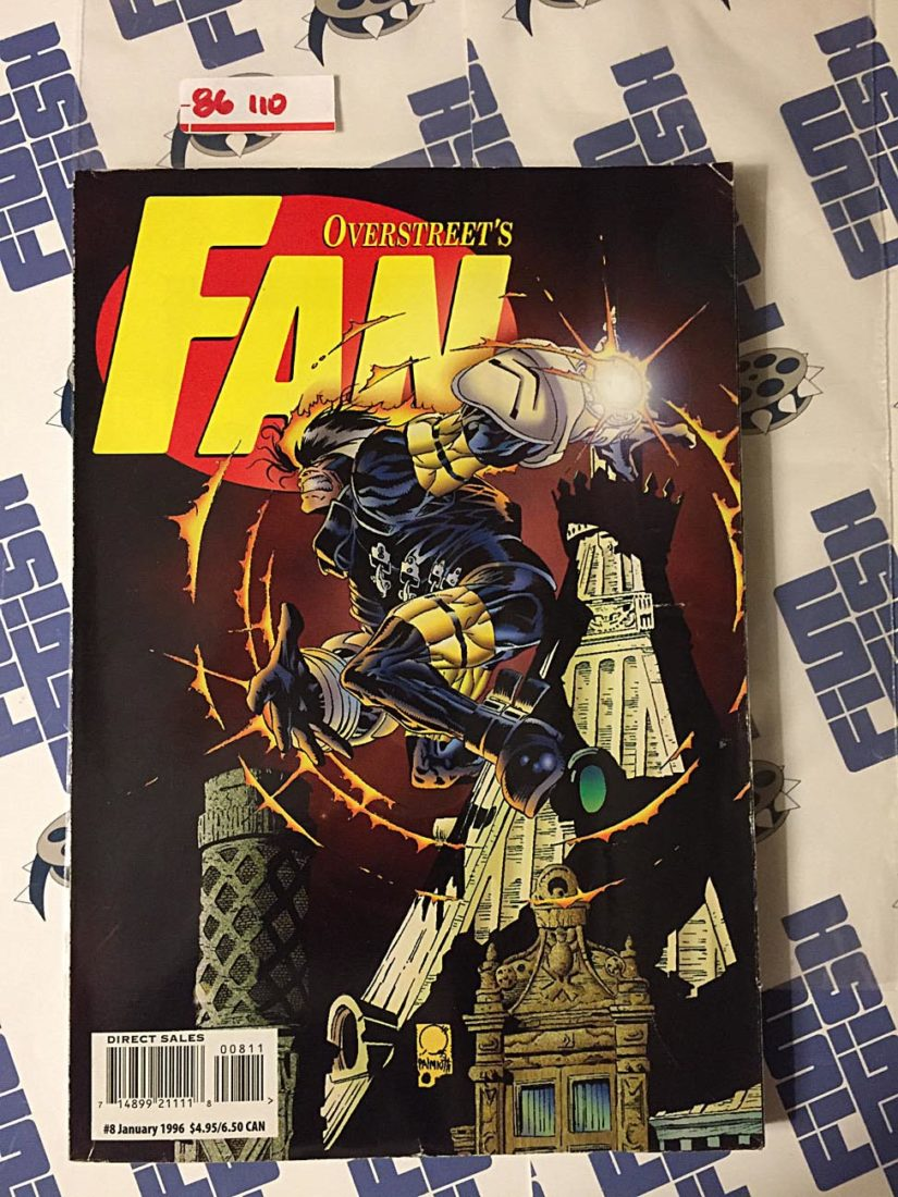 Overstreet's Fan Magazine (#8, January 1996) Frank Miller, Neil Gaiman, Lady Rawhide 86110