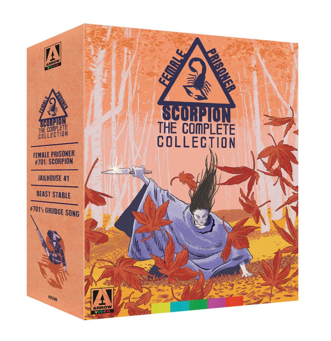 Female Prisoner Scorpion: The Complete Collection 4-Disc Box Set