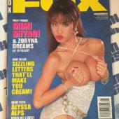 Fox Magazine (November 1994) Mimi Miyagi, Alyssa Alps [86024]