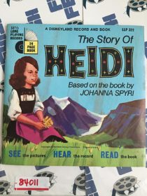The Story of Heidi A Disneyland Record and Book (1968) [84011]