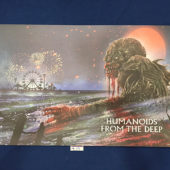 Humanoids from the Deep 28 x 16 inch Original Promotional Lithograph Poster (2019)