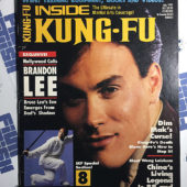 Inside Kung Fu Magazine (July 1991) Brandon Lee, Wong Laishen [189127]