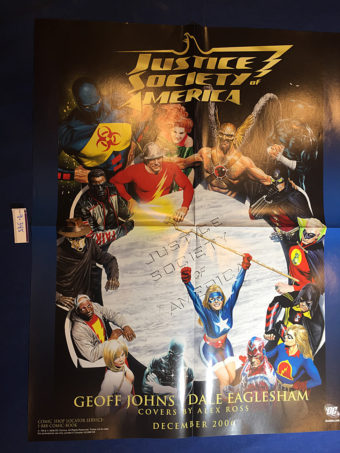 Justice Society of America 17×22 inch Promotional Poster DC Comics Alex Ross (2006)