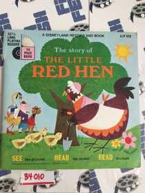 The Story of the Little Red Hen: A Disneyland Record and Book LLP332 (1968) 84010