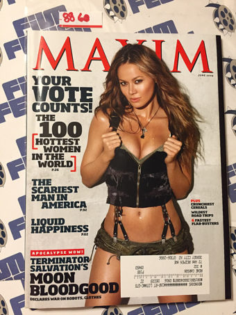 Maxim Magazine Moon Bloodgood (June 2009)