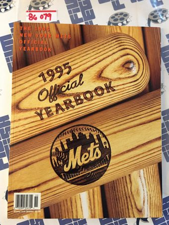 1995 Official New York NY METS Official Yearbook [86079]