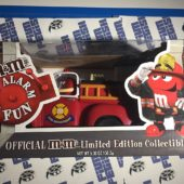 Limited Edition Collector's M&M Firetruck Candy Dispenser (2008)