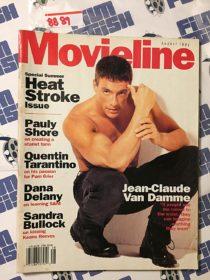Movieline Magazine (Aug 1994) Jean-Claude Van Damme, Pauly Shore, Quentin Tarantino, Dana Delany, Sandra Bullock