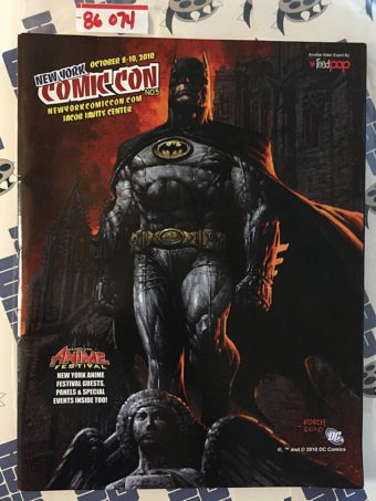 New York Comic-Con No. 5 Official Program Guide (Oct 8-10, 2010) Batman Cover 86074