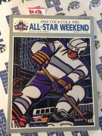 1994 NHL All Star Weekend All Star Game Madison Square Garden