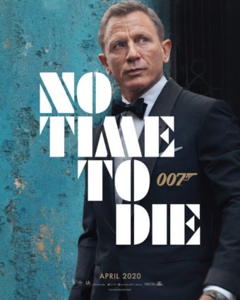 First poster for No Time To Die released