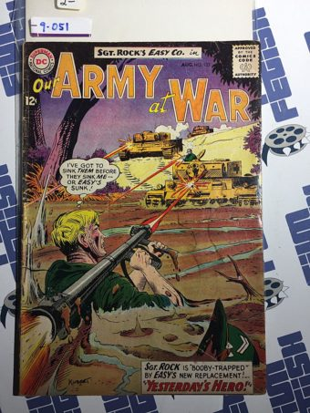 Our Army at War Sgt. Rock's Easy Co. (No. 133, Aug 1963) Joe Kubert [9051]