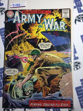 Our Army at War Sgt. Rock's Easy Co. (No. 139, Feb 1964) Joe Kubert [9052]