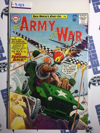 Our Army at War Sgt. Rock's Easy Co. (No. 140, March 1964) Joe Kubert [9053]