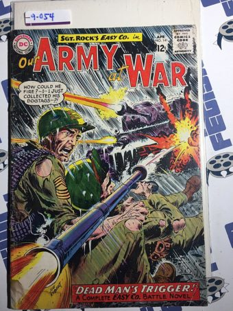 Our Army at War Sgt. Rock's Easy Co. (No. 141, April 1964) Joe Kubert [9055]