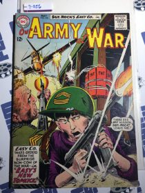 Our Army at War Sgt. Rock's Easy Co. (No. 142, May 1964) Joe Kubert [9056]