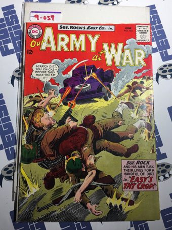Our Army at War Sgt. Rock's Easy Co. (No. 143, June 1964) Joe Kubert [9057]