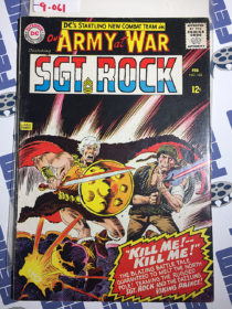 Our Army at War Sgt. Rock's Easy Co. (No. 163, Feb 1966) Joe Kubert [9061]