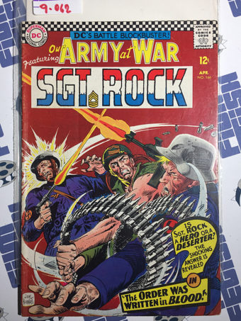 Our Army at War Sgt. Rock (No. 166, April 1966) Joe Kubert [9062]