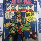 Our Army at War Sgt. Rock (No. 167, May 1966) Joe Kubert [9063]