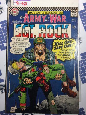 Our Army at War Sgt. Rock (No. 167, May 1966) Joe Kubert [9063]