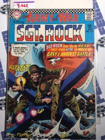 Our Army at War Sgt. Rock Comic (No. 173, November 1966) Joe Kubert [9065]