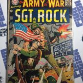 Our Army at War Sgt. Rock Comic (No. 185, October 1967) Joe Kubert [9066]