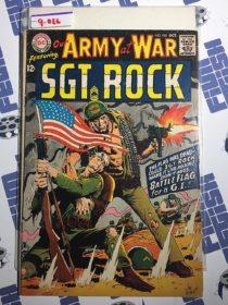 Our Army at War Sgt. Rock Comic (No. 185, October 1967) Joe Kubert [9066]