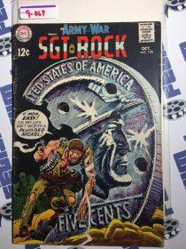 Our Army at War Sgt. Rock Comic (No. 198, October 1968) Joe Kubert [9067]