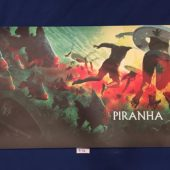 Piranha 16 x 28 inch Lithograph Poster (1978)