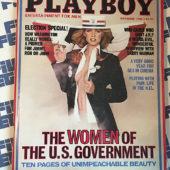 Playboy Magazine (November 1980) How Washington D.C. Works, Larry Hagman [86014]