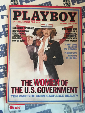 Playboy Magazine (November 1980) How Washington D.C. Works, Larry Hagman [86014]