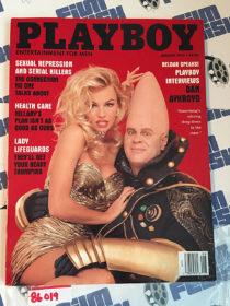 Playboy Magazine (August 1993) Dan Aykroyd [86019]