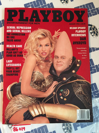 Playboy Magazine (August 1993) Dan Aykroyd [86019]