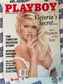 Playboy Magazine (June 1997) Carmen Electra, Dennis Rodman [86022]