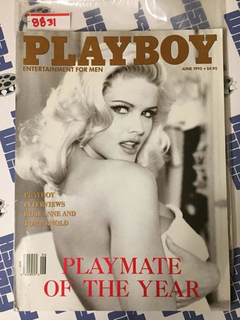 Playboy Magazine (June 1993) Anna Nicole Smith Playmate of the Year 8831