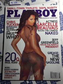 Playboy Magazine (August 2007) Garcelle Beauvais, Chris Tucker, Jeff Greenfield, Paul Rudd [9279]