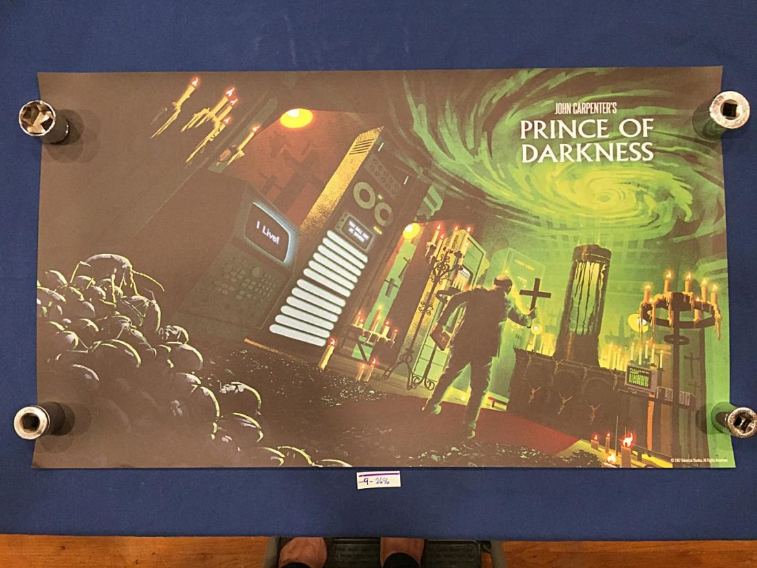 John Carpenter's Prince of Darkness 16 x 28 inch Lithograph Poster (1987)