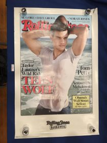 Rolling Stone Magazine Taylor Lautner Cover 22 x 34 inch Poster