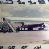 Set of Two Original Photos: Air Force One and President Ronald Reagan [9111]
